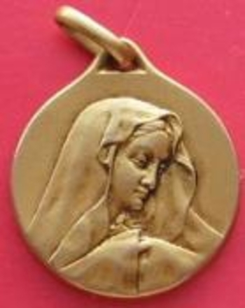 Medaille  Vierge avers