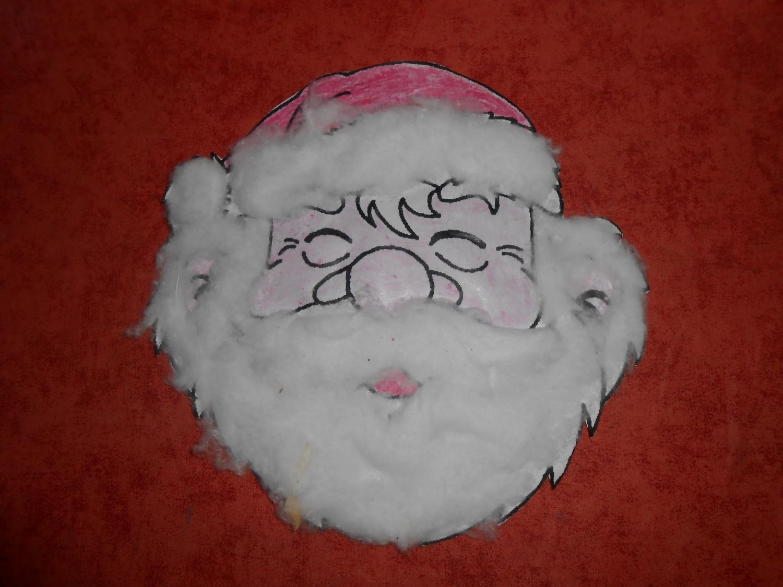Des idées pour Noël : une tête de Père Noël