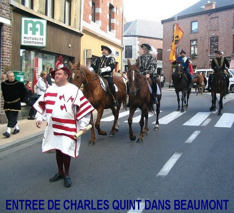 CHARLES QUINT A BEAUMONT
