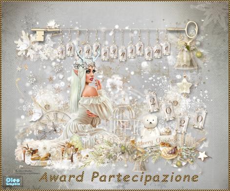 Award di partecipazione anno 2020