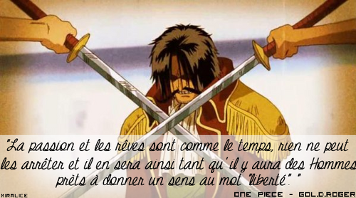Citation n°5 ~ One piece