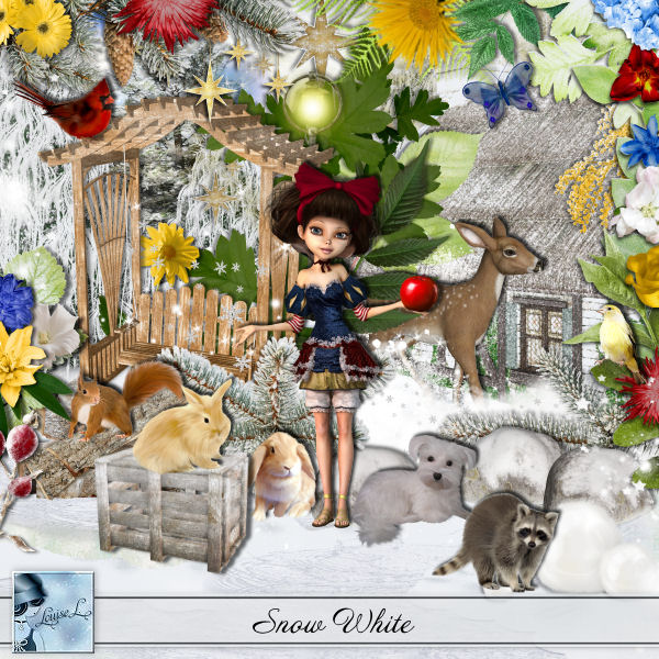 Snow White by Louise L