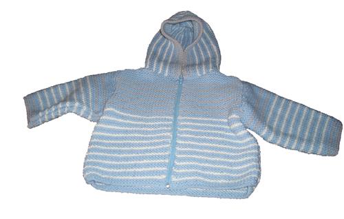 Voici mon deuxième tricot