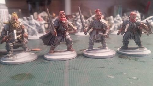 GoT : premiers sauvageons peints