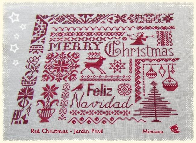 Red Christmas de Jardin Privé 2