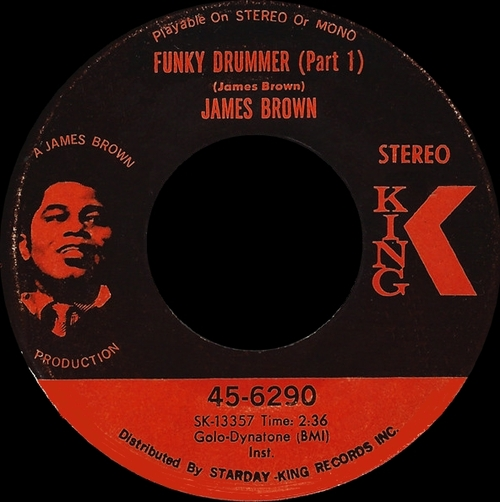 James Brown : Single SP King Records 45-6290 [ US ]