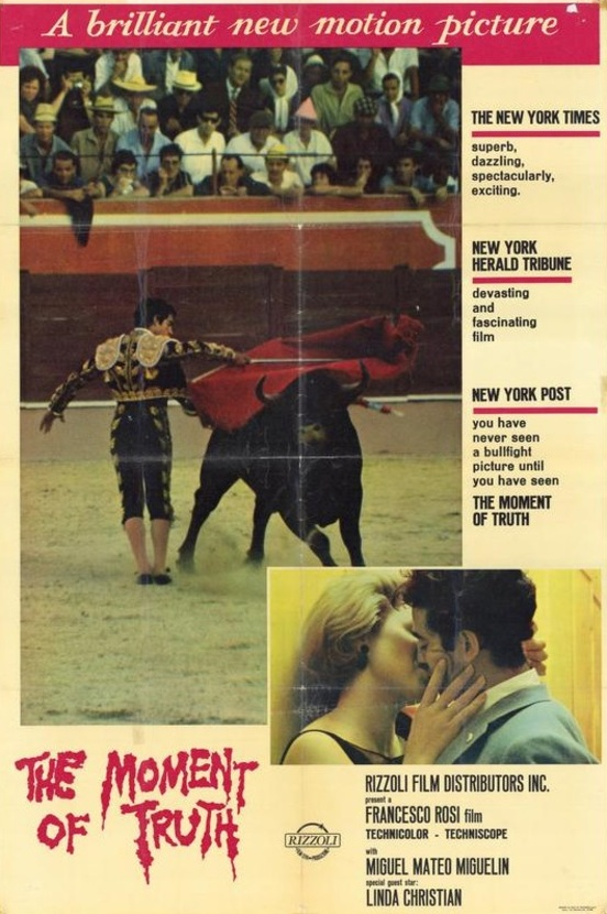 THE MOMENT OF TRUTH BOX OFFICE USA 19655