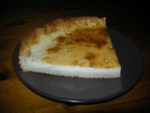 La tarte au lait de poule
