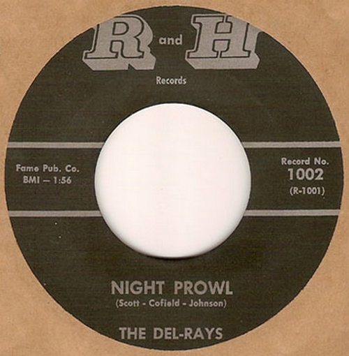 The Del-Rays : Night Prowl