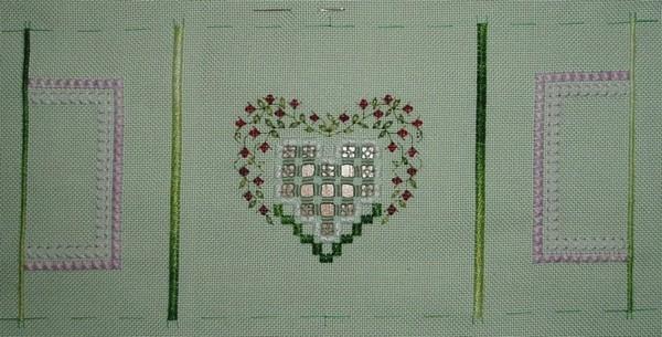 2ème Coeur de Reine - étape 2
