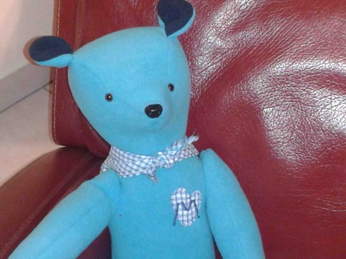 Émile l'ours bleu