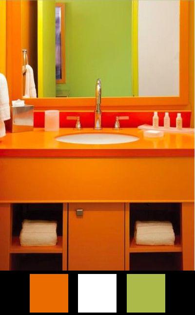 La salle de bains - Nuancier 11