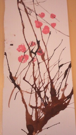 Branche de sakura ( Japon)