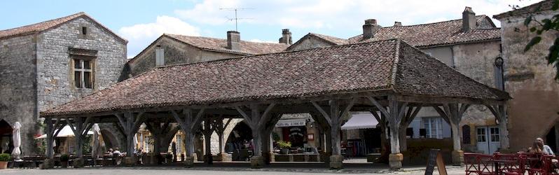 La hall de Monpazier