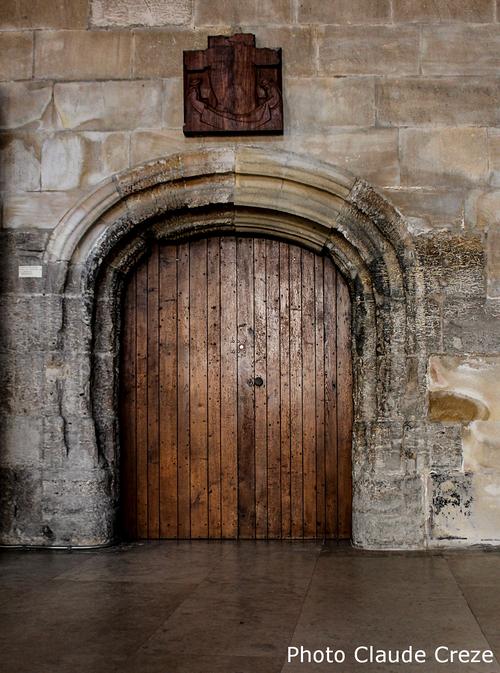 Actuelle entrée de la tour(cliquez sur la photo pour l'agrandir)