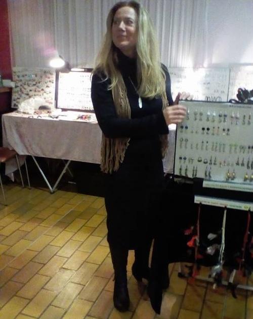 Exposition de mes bijoux country au bal de Neuillé-Pont-Pierre
