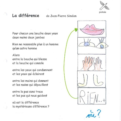 Poésie pour la différence et la tolérance !