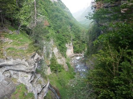 Au bord des cascades