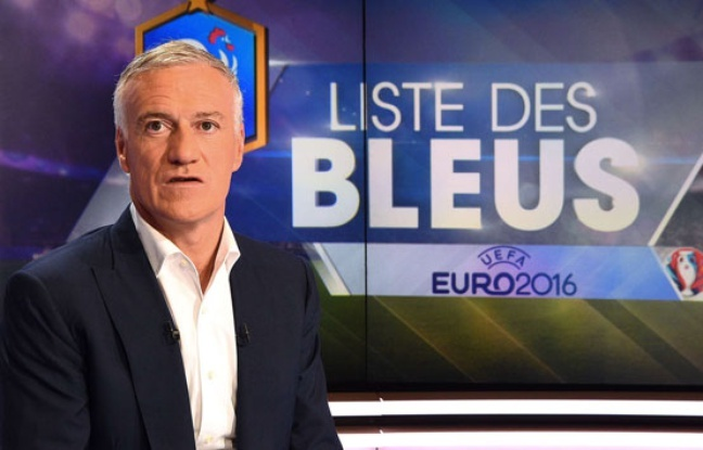 Didier Deschamps au Journal de 20h.