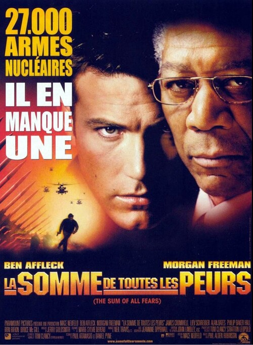 LA SOMME DE TOUTES LES PEURS BOX OFFICE FRANCE 2002