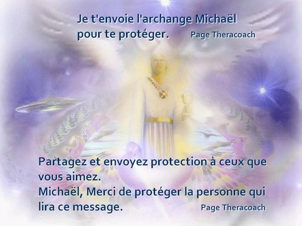Je t'envoie l'archange Michel pour te Protéger!!!