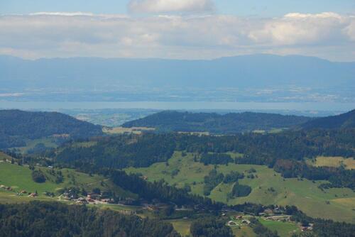 Le Lac Léman et le Jura