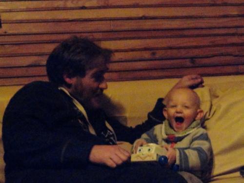 Emilien a quinze mois...