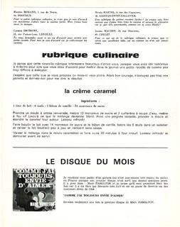 JOURNAL N°57 Juin 1970