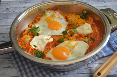 Chilaquiles {100% Mexican Confort Food}
