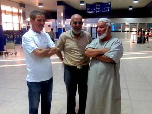 2 ème jour de l'Aid 1438 à Hassi messaoud avec mes amis lakhdar et Ali