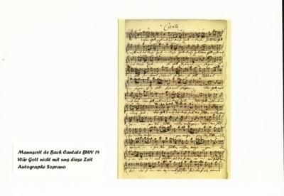 Blog de colinearcenciel :BIENVENUE DANS MON MONDE MUSICAL, UN MANUSCRIT DE BACH sur la CANTATE 14