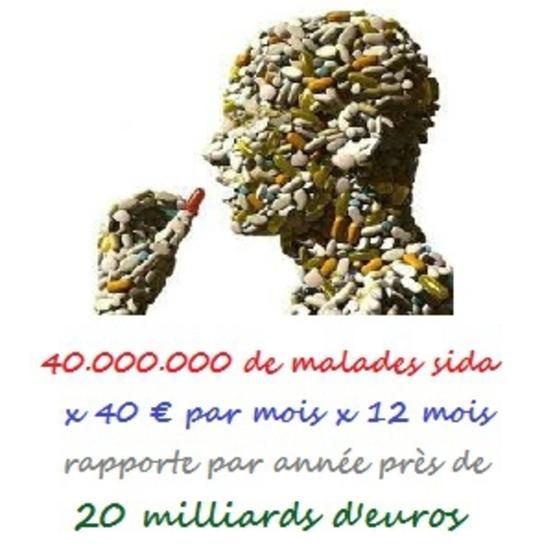 40 millions de malades