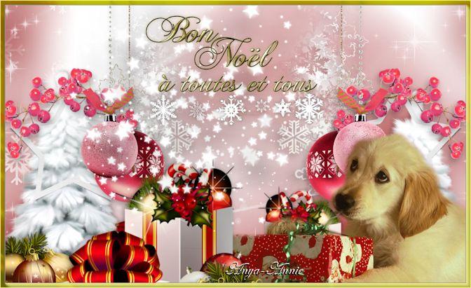 Bon Noël à toutes et à tous - En Pause