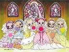 Les filles en mariée