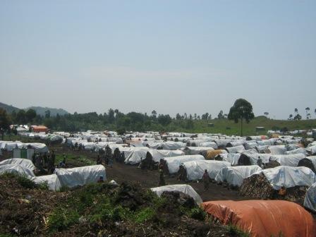 La vie autrement dans le camp de déplacés de BULENGO