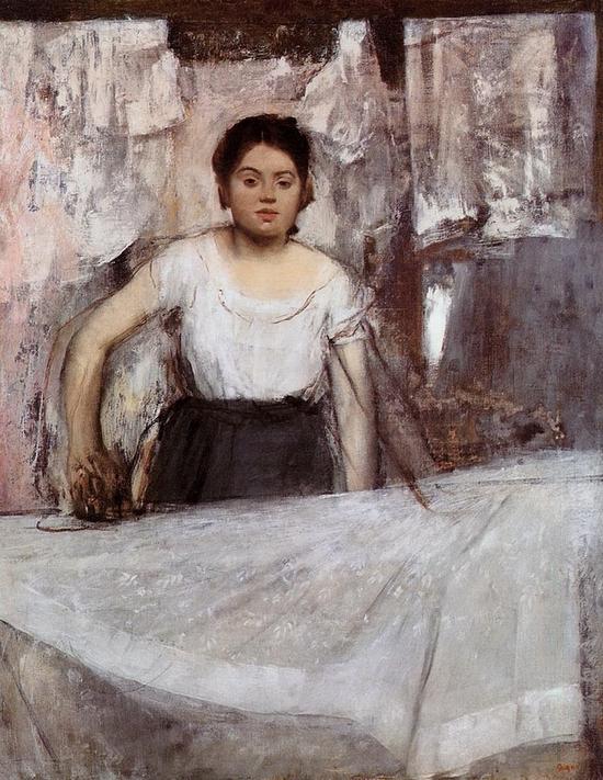 Edgar Degas, La repasseuse