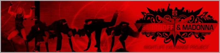 Madonna Smirnoff Nightlife Exchange Project 2011 Contest