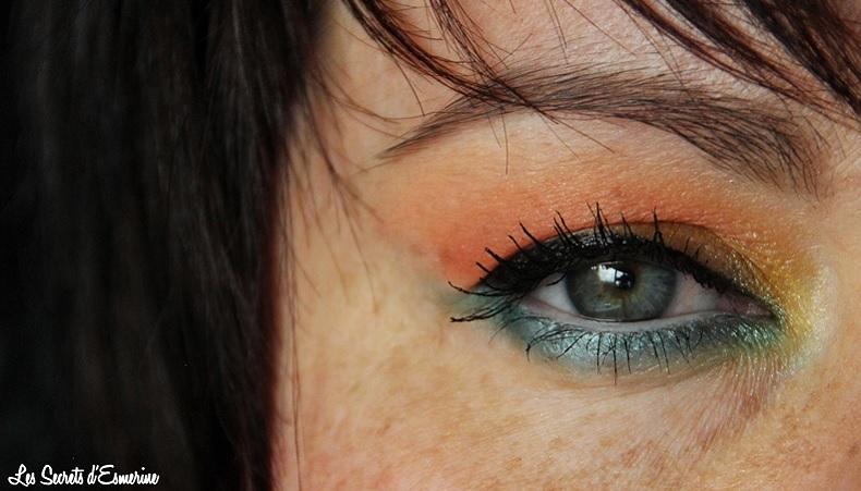 Maquillage Estival : un coucher de soleil sur la mer... [Tutoriel]