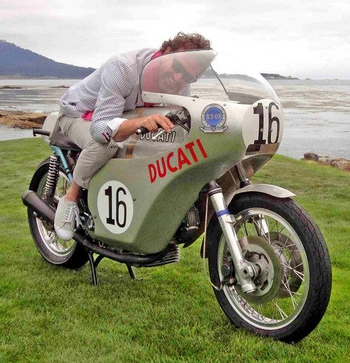 Paul d'O. dandy motocycliste