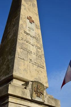 Visite du monument aux morts d'Annappes