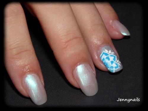 - Nail art - Cold Flower + participation concours