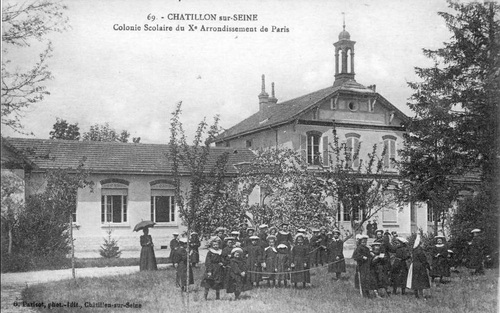 La colonie du Xème arrondissement de Paris en cartes postales