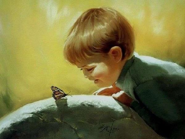 Donald ZOLAN Le peintre des enfants