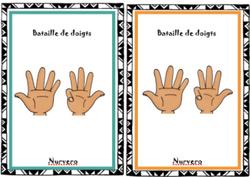 math C1- jeux de doigts