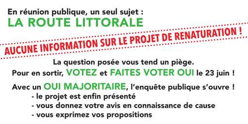 Pourquoi voter OUI à la consultation ur le projet de renaturation du Puits d'Enfer