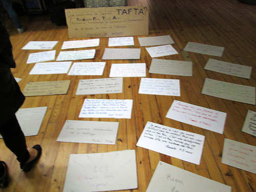 16 octobre : Succès du meeting « Anti-TAFTA » avec Susan Georges