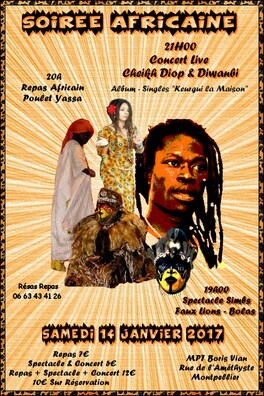 ★ Live Cheikh Diop & Diwanbi + Spectacle Traditionnel