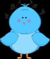 Singing Blue Bird