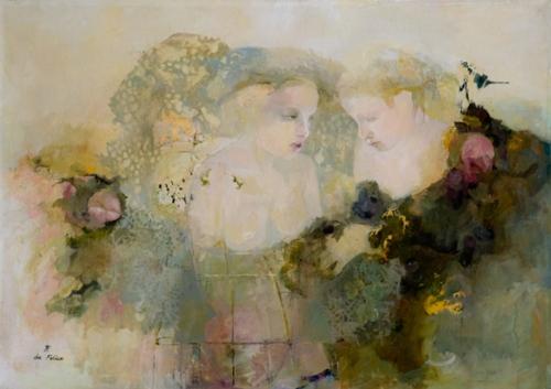 Françoise de Felice, 1952   Peintre impressionniste figuratif