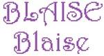 Dictons de la St Blaise + grille prénom   !